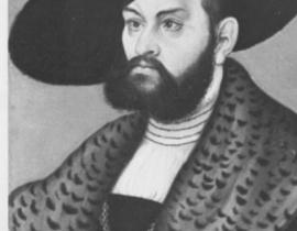 Lucas Cranach Starszy - portret ksiêcia Albrechta