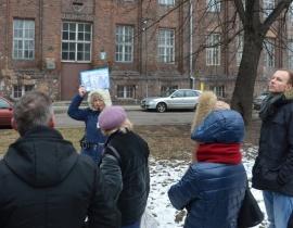 Plac Wintera - dzi¶ Targ Ma¶lany - spacer przewodnicki 24.01.2015