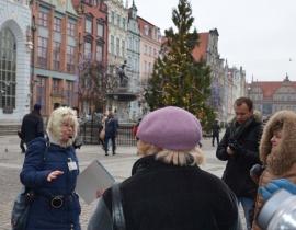 na D³ugim Targu - spacer przewodnicki 24.01.2015