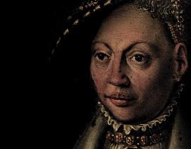 królewna Dorota - miniatura z zamku Frederiksborg
