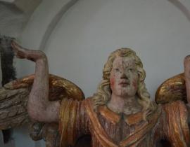Jamio³ - wiejski parobczak, podtrzymywa³ ambonê :) - warsztat królewiecki, XVII w.