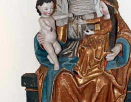 ¶w. Anna Samotrzeæ, Muz. Diecezjalne W³oc³awek, zdjêcie ze strony Muzeum