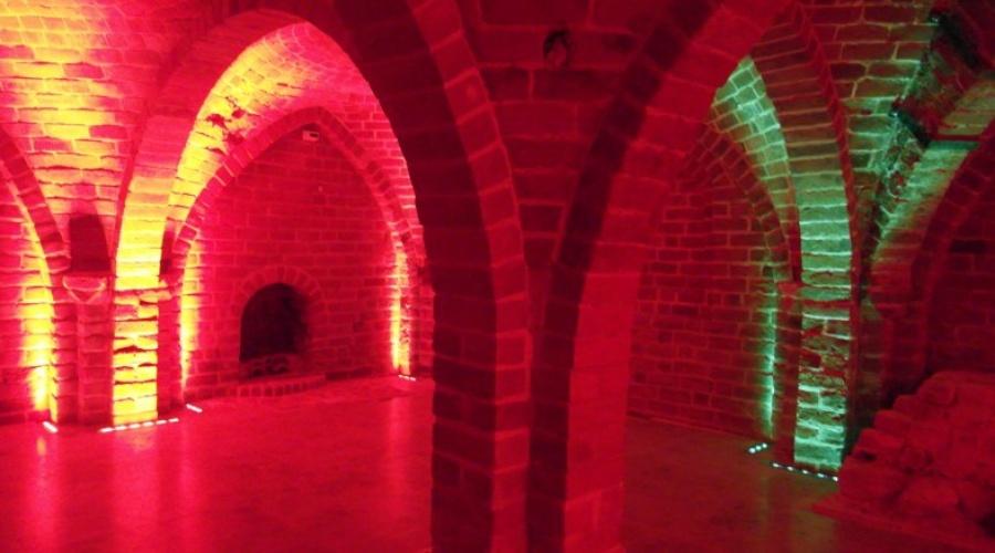 Romañskie piwnice w Gdañsku
